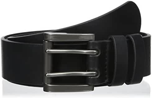 Levi's Men's 1 9/16 in. Genuine Leather Two-Pronged Buckle Belt (With Big & Tall Sizes)
