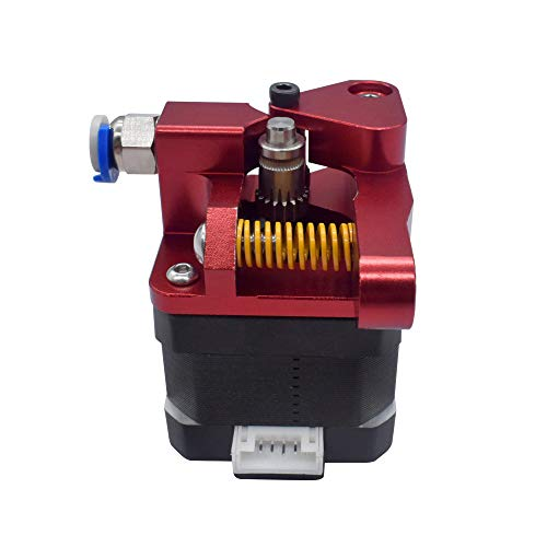 WINSINN Dual Gear Extruder, Works with Creality Ender 3 CR10 CR-10 Pro CR-10S Tornado Upgraded Aluminum Drive Feed for 3D Printer 1.75mm Filament