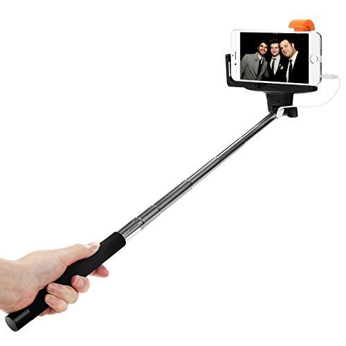 selfie stick dealgadgets extendable self portrait monopod with adjustable phone holder built. Black Bedroom Furniture Sets. Home Design Ideas