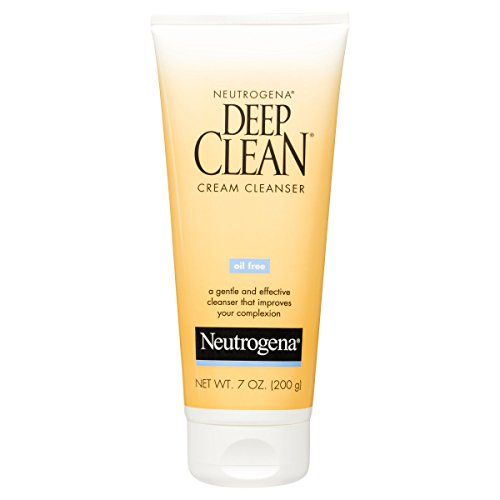 Neutrogena Deep Clean Cream Cleanser, 7 Fl. Oz