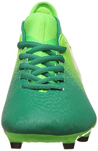 Adidas X 16.3 FG, Scarpe per Allenamento Calcio Uomo, Verde (Versol/Negbas/Verbas), 47 1/3 EU