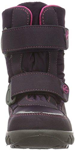 Courtes Bottes Doublure Richter Violet aubergine fuchsia Fille Husky Avec Violett 7701 Chaude 1gExpwq