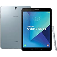 Samsung Galaxy Tab S3 (SM-T825Y) 9.7-inches 4GB / 32GB Factory Unlocked Tablet PC - International Stock No Warranty (Silver)