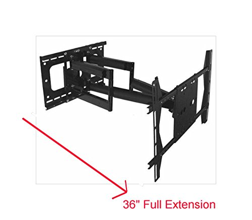 Uaxx 800 Dual Arm Articulating Wall Mount For 60 Quot 65 Quot 70