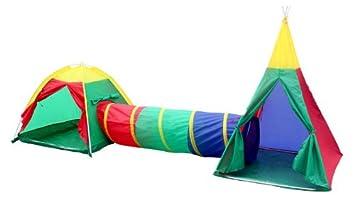 set en tiendas de juegos de aventura infantiles para interiores y exteriores