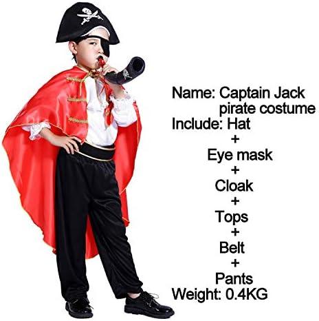 QZXCD Capa de Halloween Los nuevos Piratas del Caribe Disfraces de ...