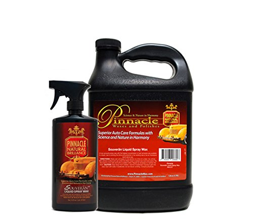 PINNACLE Souveran Liquid Spray Wax Gallon & 16 oz. Combo