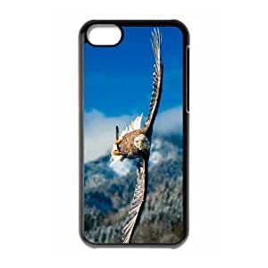 Bald Eagle Use Your Own Image Phone Case for Iphone 5C,customized case cover ygtg578858