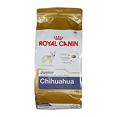 Royal Canin Chihuahua Junior, Chihuahua Junior Dog Puppy Dry Food 1.5kg (3.3pounds)