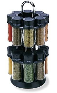 Olde Thompson 16 Jar Carousel Spice Rack