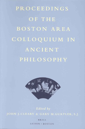 Proceedings of the Boston Area Colloquium in Ancient Philosophy: Volume XIII (1997)