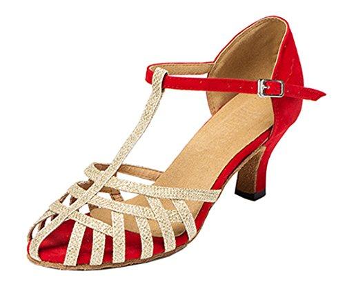 MGM-Joymod - Jazz Y Contempóraneo de Sintético Mujer Red/6cm Heel