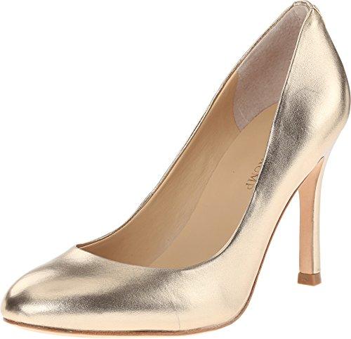Ivanka Trump Women's Janie Dress Pump, Gold, 8 M US