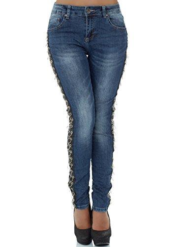 malucas Jeans - Skinny - Femme Bleu bleu Bleu