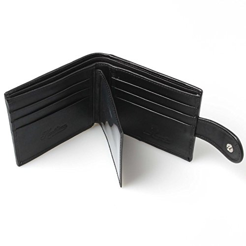 Bifold Stingray Purse Holder Card Leather Credit Wallet ID Genuine Men's Button qEBwdnT