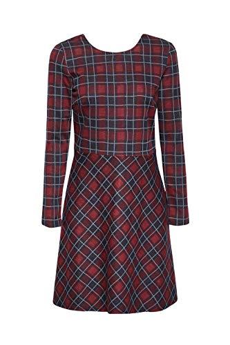 bordeaux 600 Vestido Esprit By Edc Red Mujer Rojo Para 7YHFqw