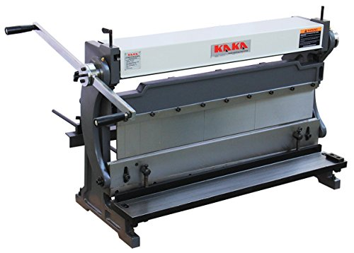 KAKA Industrial 3-In-1/760 30-Inch Sheet Metal Brake, High Efficiency, 20 Gauges Shear Brake Roll Combination, Versatility, Solid Construction, Sheet Metal Brakes, Shears and Slip Roll Machine