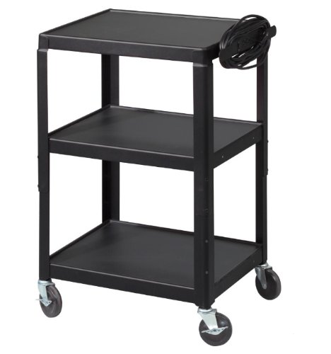 Balt 26-Inch to 42-Inch Adj Utility Cart, Black