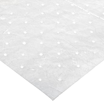 "SPC SPC300 19"" Length, 15"" Width Maxx Enhanced Medium Weight Pads, Oil Only Class (100 Per Bale)"