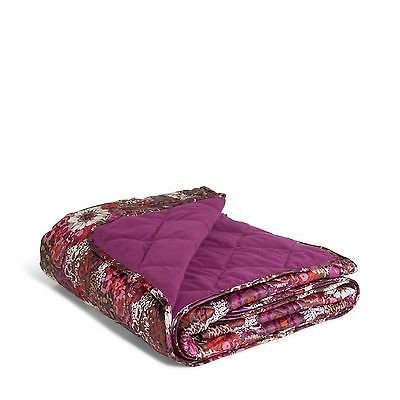 Price comparison product image Vera Bradley Quilted Fleece Blanket (Rosewood)