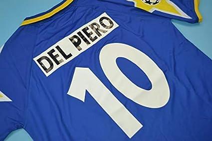d71a40c04 Amazon.com : Retro DEL Piero#10 Juventus Away Soccer Jersey 1995 ...