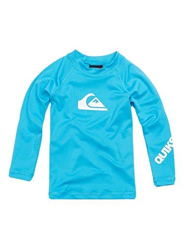 Quiksilver Little Boys' All Time Long Sleeve Surf Shirt, Blue, 3T