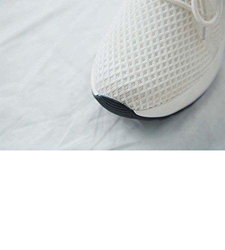 Beiläufige Laufschuhe Beschuht Mode Erhöhte Sport Breathable Schuhe White Plattform UK6 Frauen Schuhe Turnschuhe Einzelne UK3 01AqZ