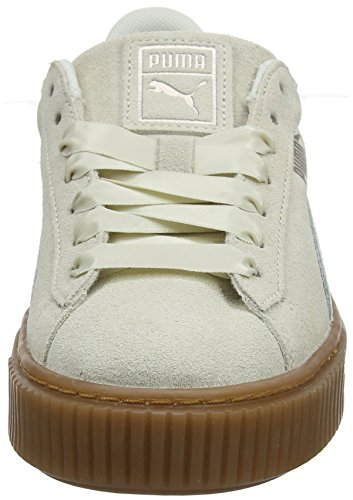 Bubble Wn's Basses Sneakers Platform marshmallow Beige Suede Puma Femme qxwfHH