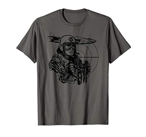Vintage WWII Military Pilot Shirt-World War 2 Bomber Shirts ()