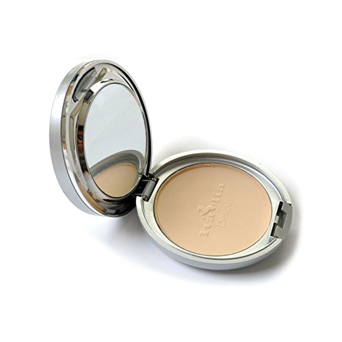 Italia Maku Up Foundation Face Two Way Mineral Powder Natural Beige Oil Free Spf 8 (Foundation Way Two)