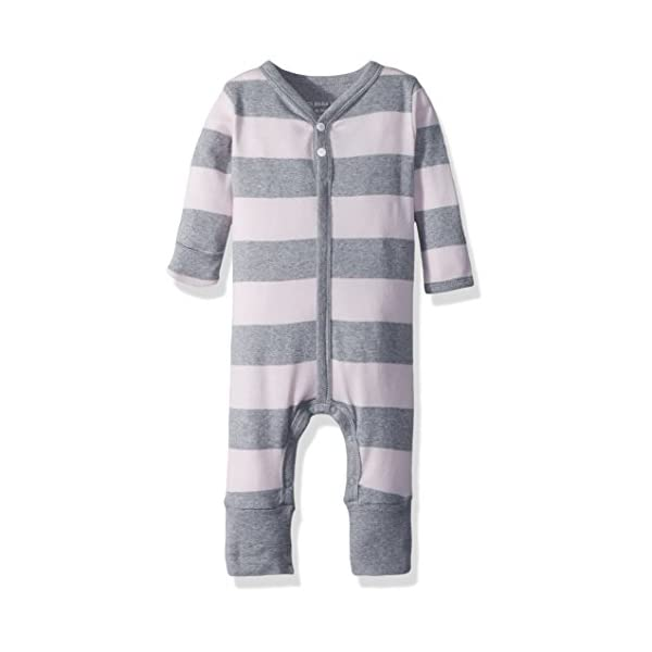 Burt's Bees Baby – Baby Girls' Romper Jumpsuit, 100% Organic Cotton One-Piece Coverall
