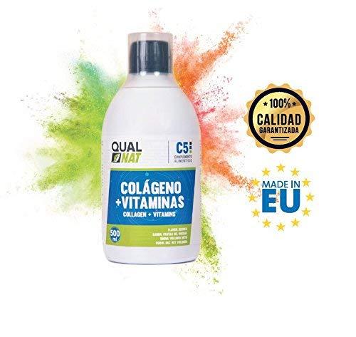 Colágeno líquido con ácido hialurónico para recuperar flexibilidad y lubricación en las articulaciones - Colágeno con vitamina C para el correcto ...