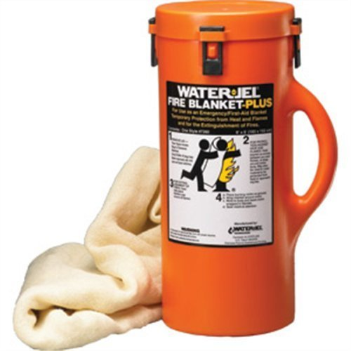 Water Jel Technologies 72604 Fire Blanket In A Canister by Water Jel Technologies ()