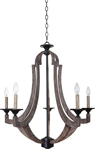 Craftmade 35125-WP 5 Light Chandelier (Winston Collection Chandelier)