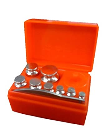 Calibration Kit with Tweezers and Weights 10mg - 50g