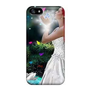 New Fashionable DaMMeke XzvNkmj7073xfeTY Cover Case Specially Made For Iphone 5/5s(bird Of Paradise)