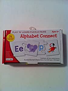 """""""Play 'N' Learn Puzzle Pairs - Alphabet Connect"""" Ages 4+"""