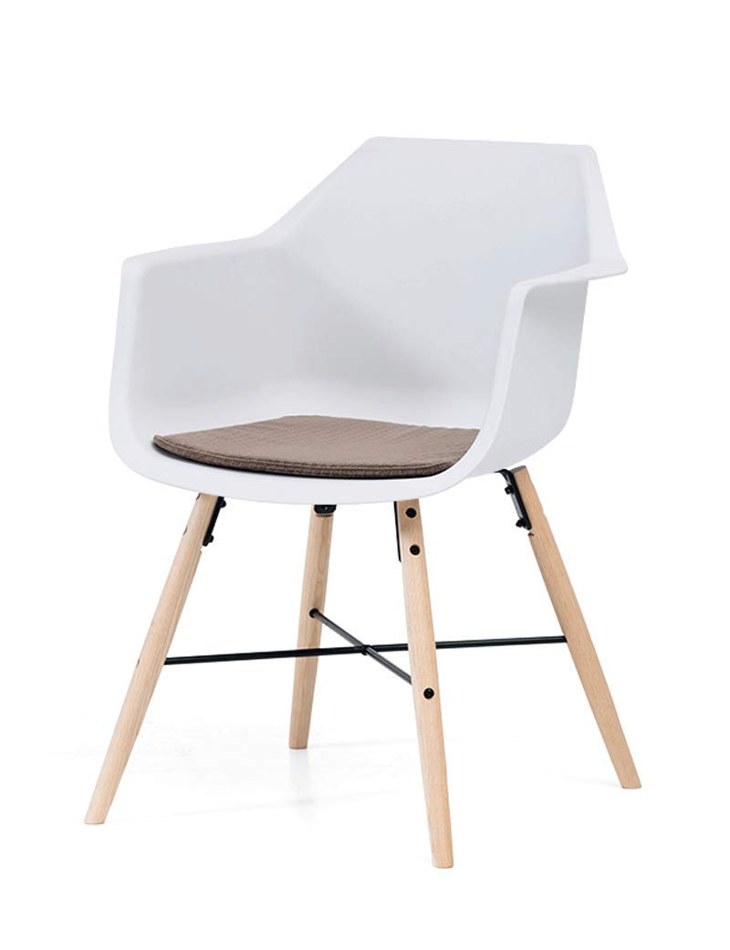 B Dining Chair Modern Minimalist Office Chair Solid Wood Chair Back Chair Home Office Chair Computer Chair (color   E)