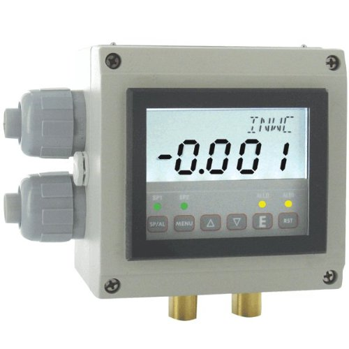 Dwyer Digihelic Series DHII Differential Pressure Controller, Range 5''WC by Dwyer