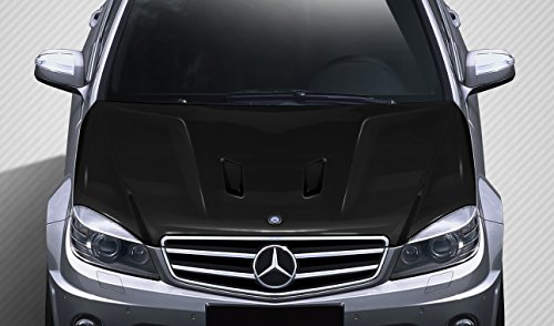 (Carbon Creations ED-BGQ-661 Black Series Look Hood - 1 Piece Body Kit - Compatible For Mercedes C63 2008-2011 )