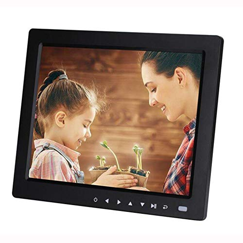 CITWW 10.4 inch Positive Screen Multi-Function High-Definition Touch Button Digital Photo Frame Electronic Album Advertising Machine,Black