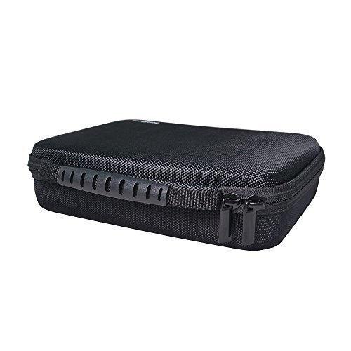 Bestshoot Protective EVA Carrying Case for Gopro Hero 5 4 /3+ /3 /2 /1 Black Camera camcorder and Essential Accessories - Complete Protection