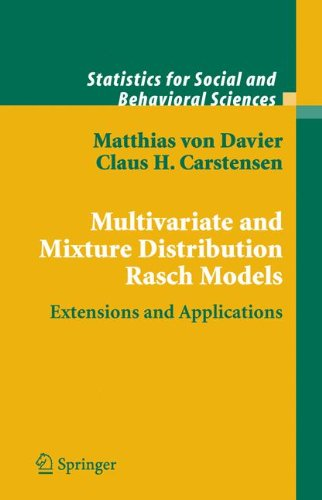 Multivariate and Mixture Distribution Rasch Models: Extensions and Applications (Statistics for Social and Behavioral Sciences) ebook