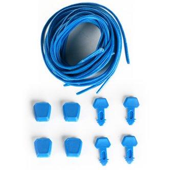 Ronix Lace Lock Kit - Blue - Set of Four