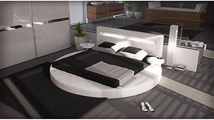 Arezzo, blanco, 200 cm x 200 cm, con colchón con somier ...