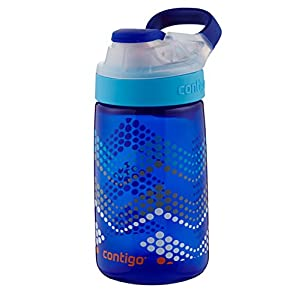 Contigo Autoseal Gizmo Sip Kids Water Bottle, 14-Ounce, Sapphire
