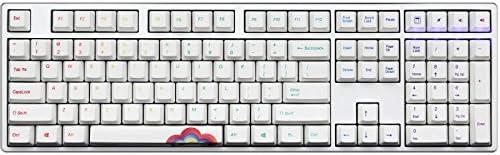 Ducky Un Teclado mecánico Patito Edición del Arco Iris USB ...