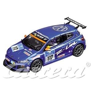 """Carrera Evolution - circuito de coches - 20027296 - 1 / 32 ª analógico - VW Scirocco GT24 de Nurburgring 24 """"No.117"""" ° (Importado de Francia)"""