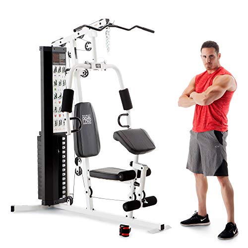 Marcy Dual-Functioning Upper And Lower Body 150-Pound Stack Home Gym Workout Weight Machine