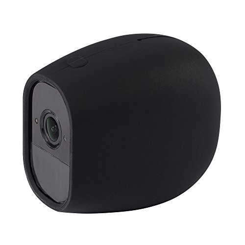 Silicone Skins for Arlo Pro & Arlo Pro 2 - Protective Cover Form Fitting Accessories for Arlo Pro and Arlo Pro 2 Cameras, Black, 1 Pack